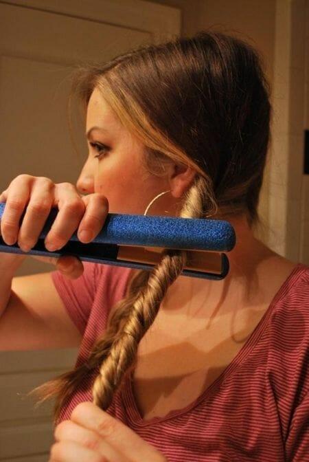 cabellera ondulada