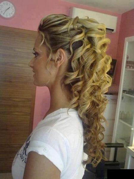 cabello ondulado